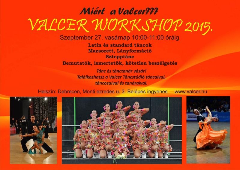 Valcer Workshop 2015.